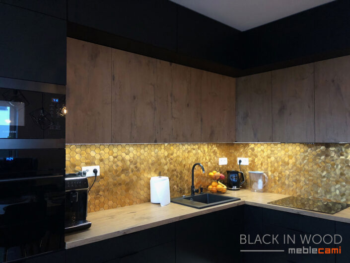 Kuchnia Black In Wood - Kielce